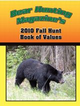 2010 Fall Hunt of Bear Hunting Book Of Values